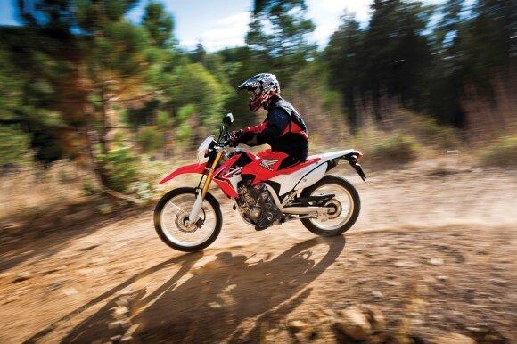 CRF250L motociklas