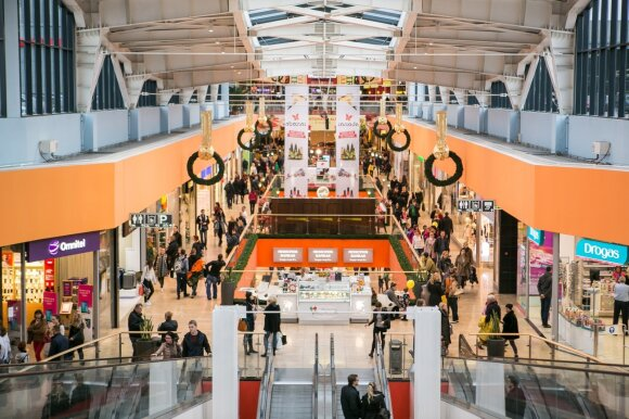 Bigger is better in Baltic city shopping mall boom