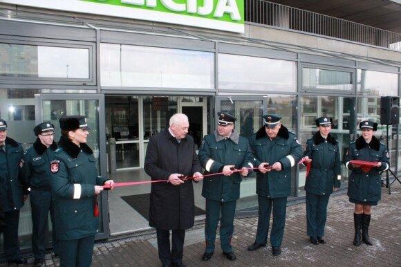 Naujo Kelių policijos pastato atidarymas