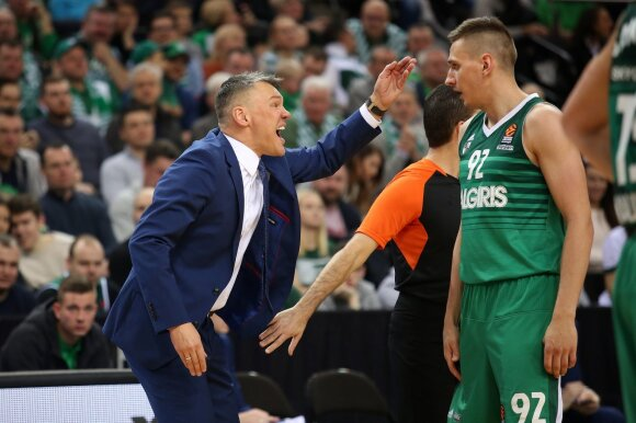 Šarūnas Jasikevičius ir Edgaras Ulanovas