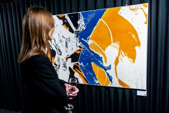 Meno ir potyrių galerija Vilniaus oro uoste