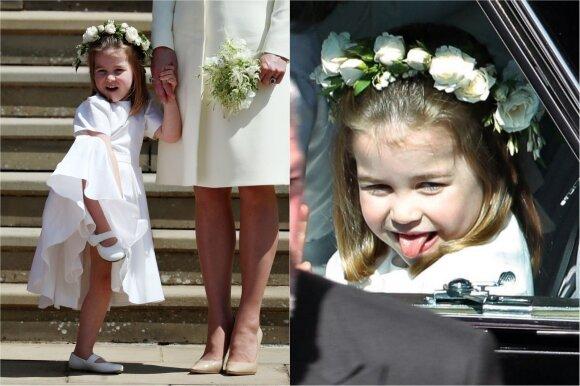 Princesei Charlottei neleidžiama sėdėti prie vieno stalo su tėvais: tokiai monarchijos taisyklei yra logiška priežastis