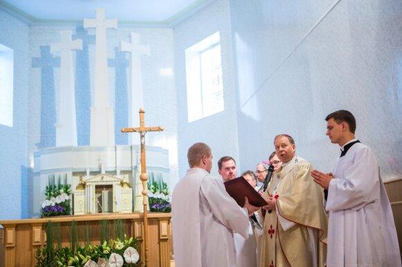 Šventosios nuodėmklausį Juodšiliai mena kaip stalių: nuo šiol jo vardu vadinsis bažnyčia