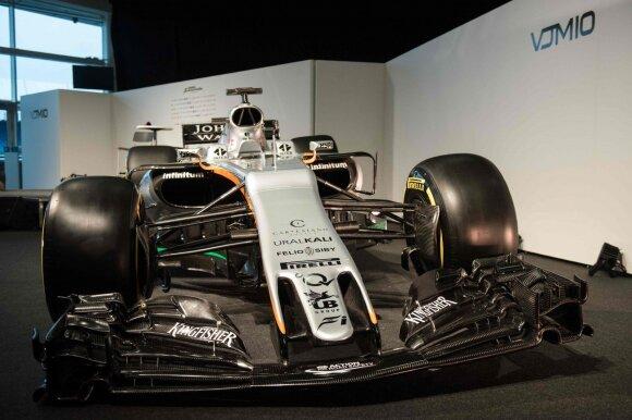 "F-1 ""Force India"" naujas automobilis"
