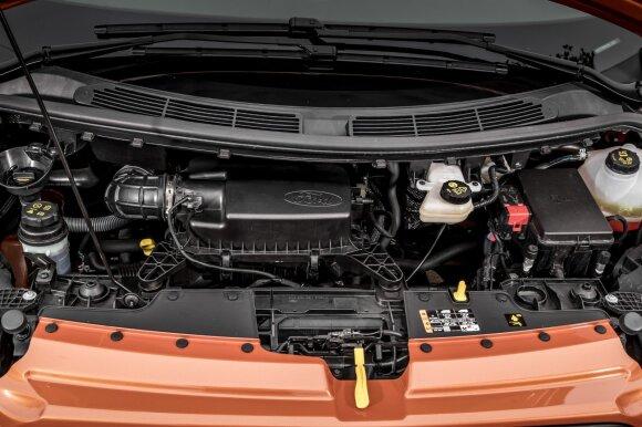 """""""Ford Transit Custom"""" montuojamas 2 litrų turbodyzelis"""