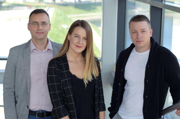 Benas Valančius, Alina Vengalytė ir Deividas Šliažas