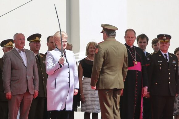 Lithuania's new chief of defence sworn into office