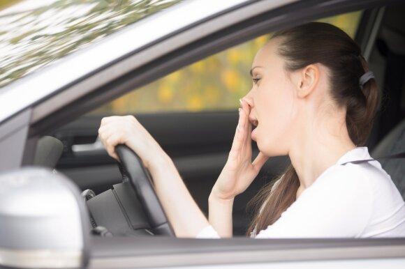 Vaistus vartojantis vairuotojas
