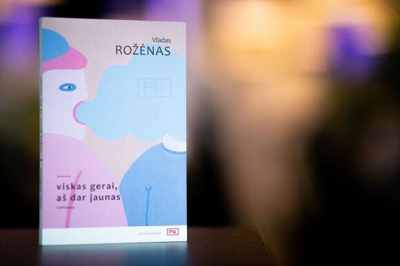Pirmosios knygos konkursą laimėjęs Vladas Rožėnas: gerai žinojau, ką noriu pasakyti