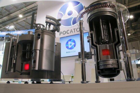 """""""Rosatom"""" BREST ir MBIR branduoliniai reaktoriai"""