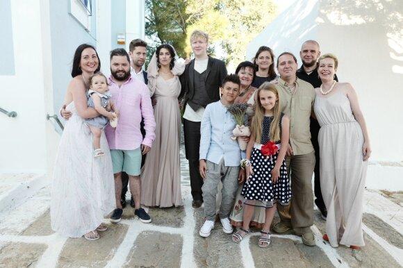 Asmik Grigorian ir Vasilijaus Barchatovo vestuvių akimirkos