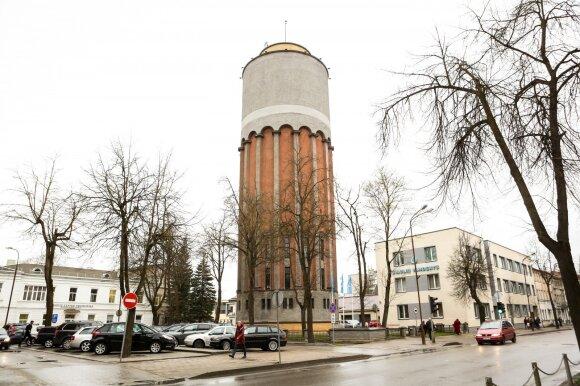 Šiaulių vandentiekio bokštas