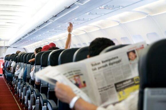 Eksperimento dalyviai ruošiasi pirmajam pasaulyje 20 valandų lėktuvo skrydžiui
