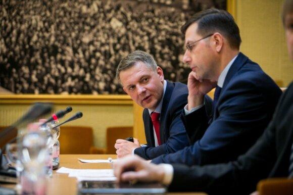 Eligijus Masiulis, Gintaras Steponavičius