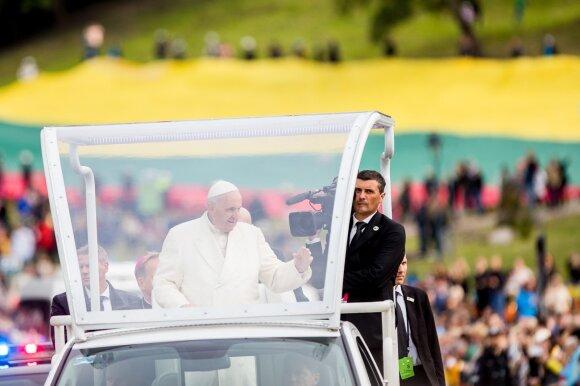 Popiežius Pranciškus Lietuvoje – istorinio vizito akimirkos