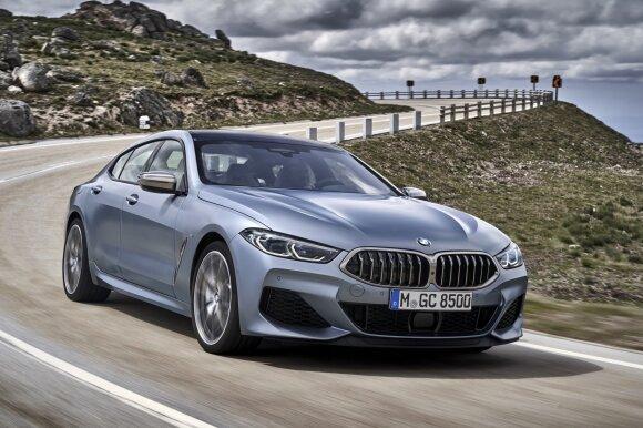 BMW Frankfurto parodoje parodys išskirtines spalvas, modelius