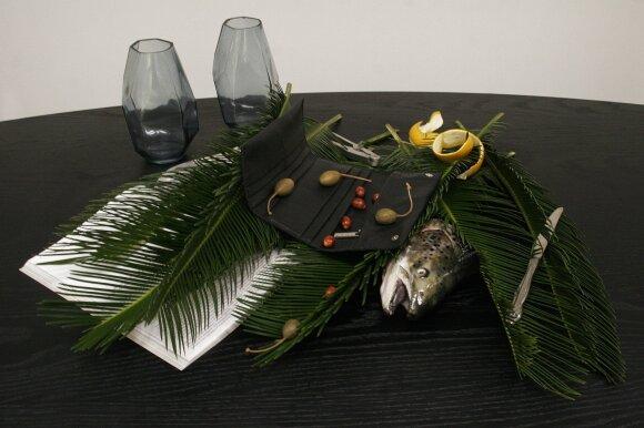 Rankinių dizainerė E. Paulauskė pristato du naujus kūrinius