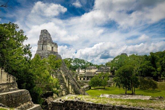 Majų civilizacijos griuvėsiai
