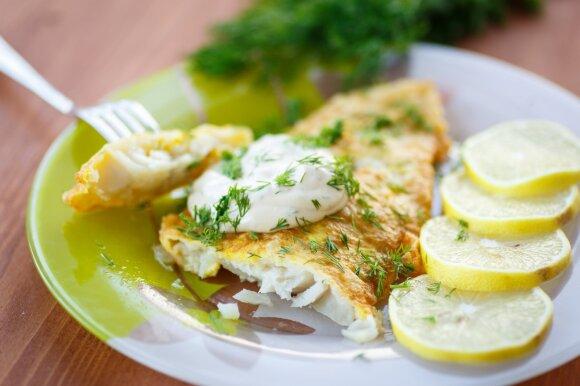 Žuvies dieta: ne tik svorio, bet ir raukšlių mažinimui