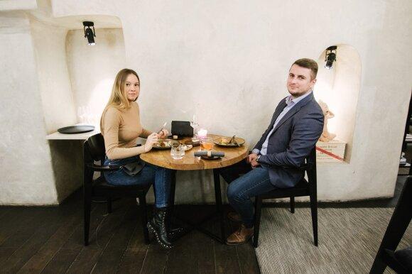 Monika ir Tomas /Foto: Deividas Bendžius