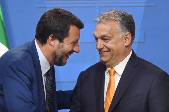 Matteo Salvini, Viktoras Orbanas