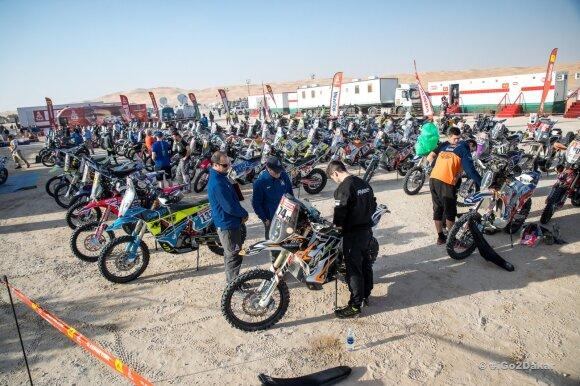 Kas slepiasi iš Dakaro ralio taisyklių