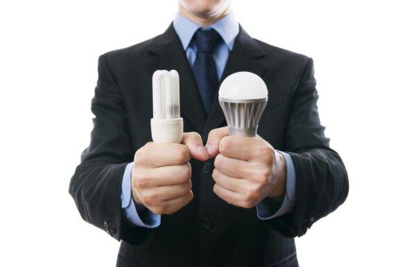 Specialisto teigimu, LED lemputės yra pernelyg reklamuojamos