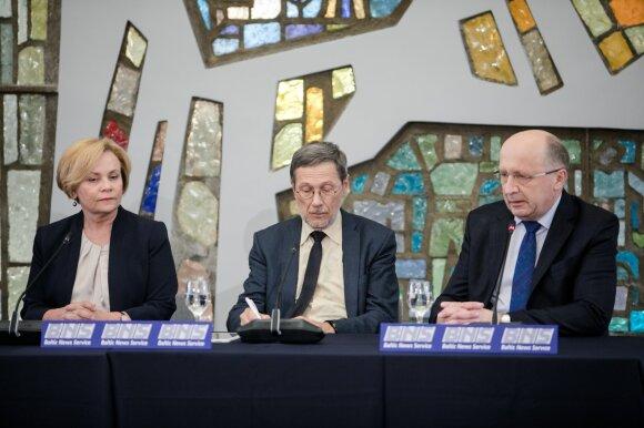 Rasa Juknevičienė, Liudas Mažylis, Andrius Kubilius