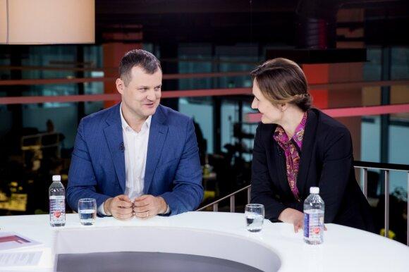 Gintautas Paluckas, Viktorija Čmilytė - Nielsen