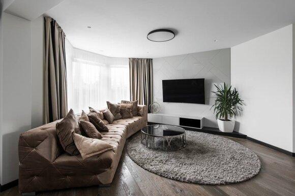 145 kv.m namas: harmoningas ir modernumo kupinas interjeras