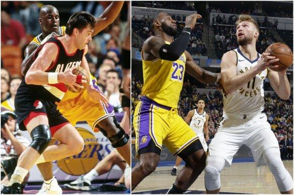 Lenkiantis ir laiką, ir tėvą: Domantas į NBA žvaigždžyną pakilo per anksti ar pačiu laiku?