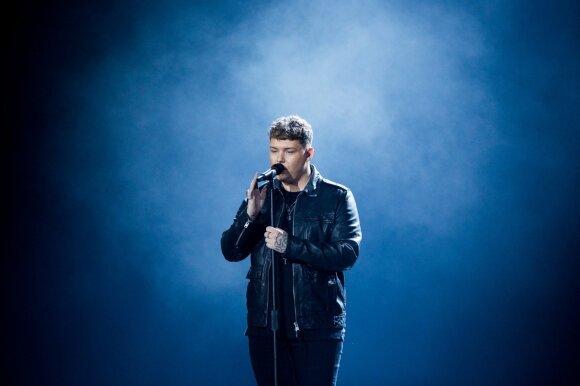 Eurovizijos finalas. Jungtinė Karalystė: Michaelas Rice'as – Bigger than Us