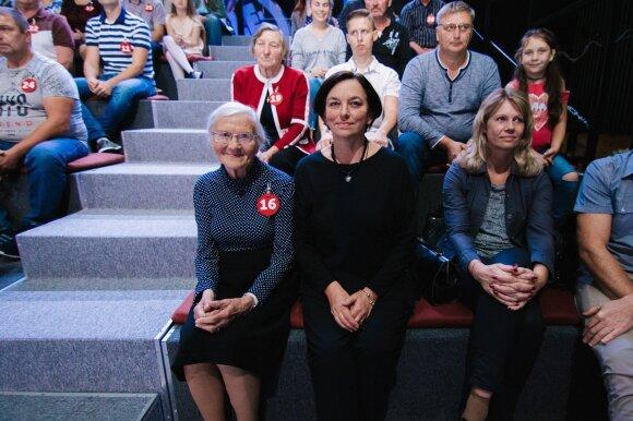 Loterijos laimėtoja Janina Zorskienė (Deivido Bendžiaus nuotr.)