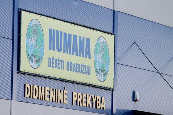 """Koronavirusas nustatytas sostinės """"Humanos"""" sandėlio darbuotojai: turėjo sąlytį su 63 asmenimis"""