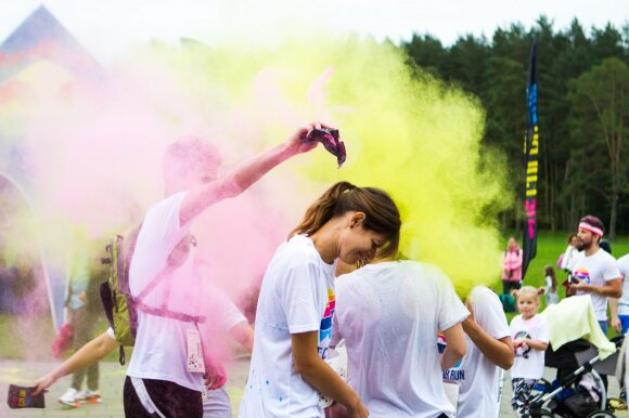 The Color Run Vilnius 2017
