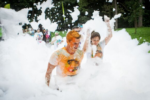 """The Color Run"" Vilnius"