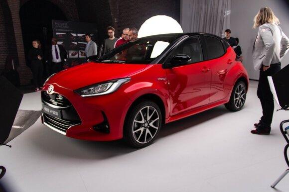 """Naujos kartos """"Toyota Yaris"""" sieks tapti didmiesčio gyventojų numylėtiniu. Aivaro Grigelevičiaus nuotr."""