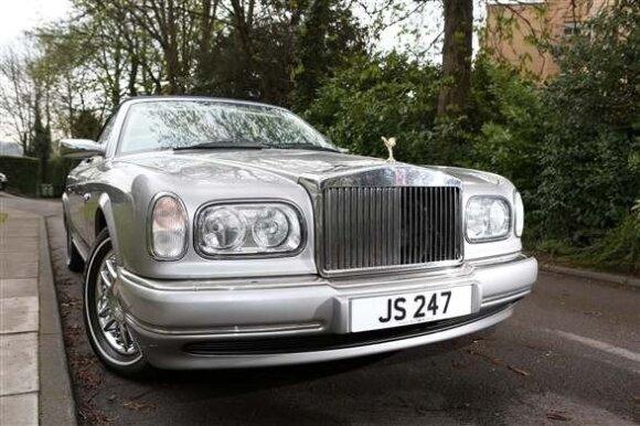 Jimmy Savile priklausęs Rolls-Royce