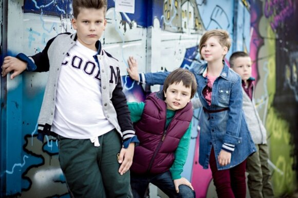 Vaikų šukuosenų mados rudeniui
