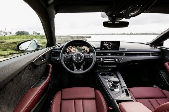 """""""Audi A5 Coupe"""" salonas"""