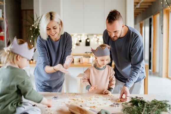 Toma Dambrauskė su šeima/ Happeak nuotr., autorius: Joana Burn Photography