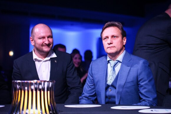 Dainius Leonavičius ir Vitoldas Milius