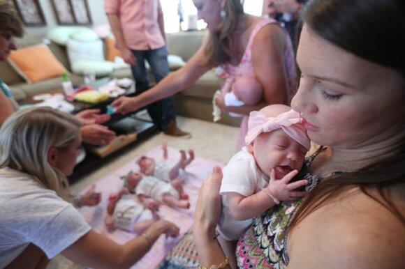"""Penketuko susilaukusi šeima atsisakė jai piršto aborto <sup style=""""color: #ff0000;"""">(FOTO)</sup>"""