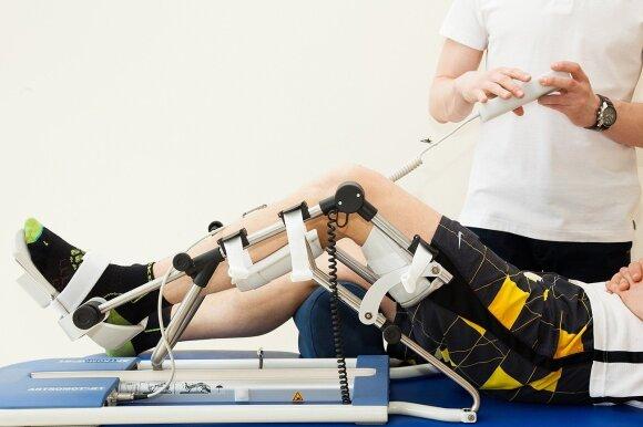 Gijos Klinikos CPM pasyvaus judesio terapija