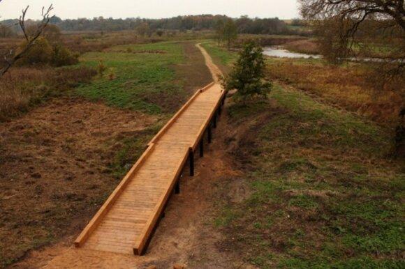 Nevėžio upės senvagių pažintinis takas