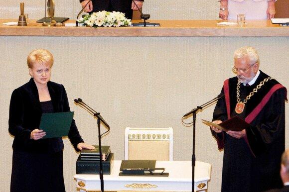 Dalia Grybauskaitė 2009 metais, Seimo archyvo nuotr.