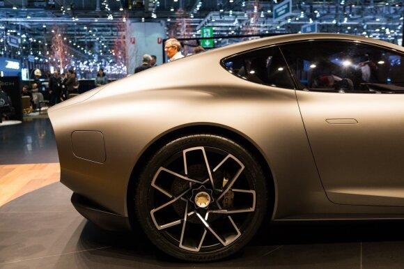 """Automobilių rinkos naujoko """"Piech"""" Ženevoje pristatytas """"Mark Zero"""""""