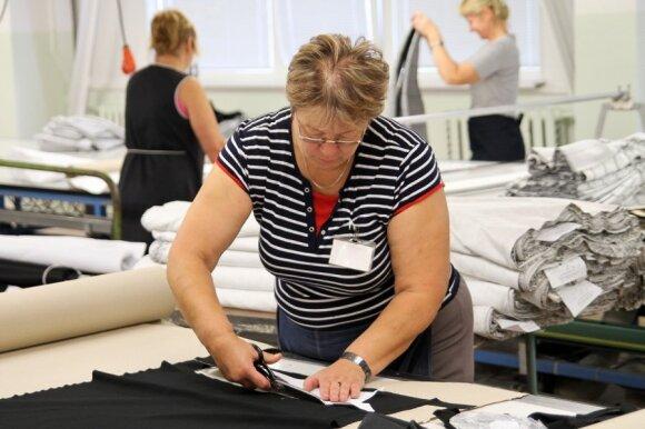 Viena iš Kauno tekstilės įmonių