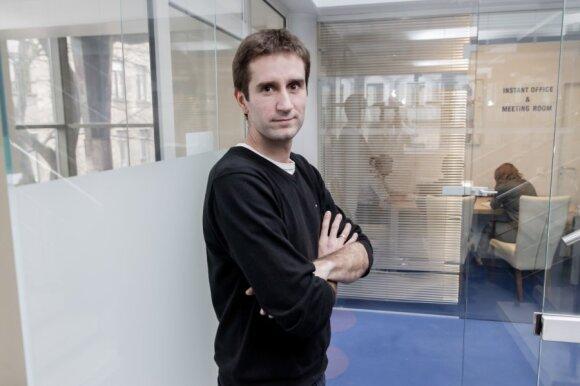 """""""Startup.lt"""" generalinis direktorius Ignas Kamantauskas"""
