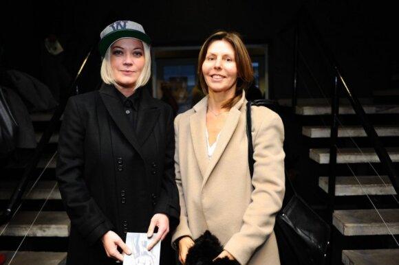 Stilistė Karina Leontjeva ir dizainerė Vida Simanavičiūtė